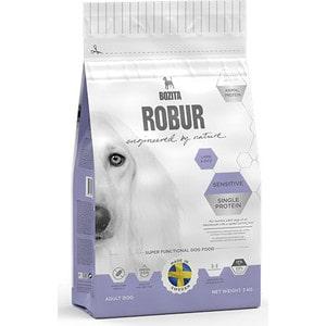 Сухой корм BOZITA ROBUR Sensitive Single Protein Lamb & Rice 23/13 с ягненком и рисом для собак с чувствительным пищеварением 3кг (14833) сухой корм bozita robur mother