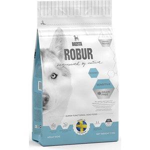 Фото Сухой корм BOZITA ROBUR Sensitive Grain Free Reindeer 26/16 беззерновой с мясом оленя для собак с чувствительным пищеварением 3кг (24221)