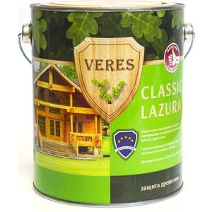 Антисептик для дерева VERES CLASSIC LAZURA № 3 тик 2.7л. пропитка антисептик ultra lazura 10 каштан veres 10л