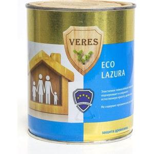 Антисептик для дерева VERES ECO LASURA №12 белый 0.75л.