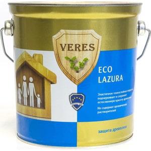 Антисептик для дерева VERES ECO LASURA № 1 бесцветный 2.5л. антисептик для дерева veres eco lasura 2 сосна 2 5л