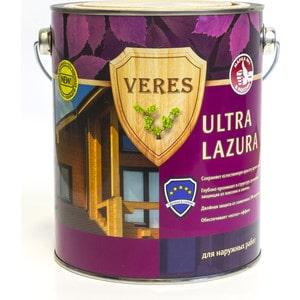 где купить Антисептик для дерева VERES ULTRA LAZURA № 9 палисандр 2.7л. дешево