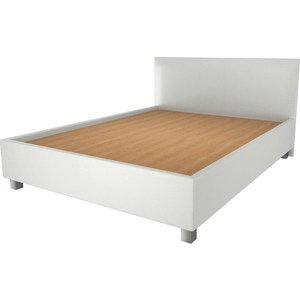 Кровать OrthoSleep Римини lite жесткое основание Сонтекс Милк 160х200 кровать orthosleep римини lite жесткое основание сонтекс милк 140х200