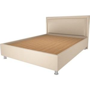 Кровать OrthoSleep Кьянти lite жесткое основание Сонтекс Беж 140х200 кровать orthosleep арно lite жесткое основание сонтекс умбер 200х200