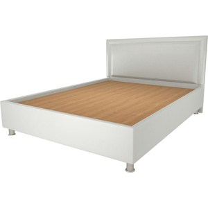 Кровать OrthoSleep Кьянти lite жесткое основание Сонтекс Милк 200х200 кровать orthosleep арно lite жесткое основание сонтекс умбер 200х200