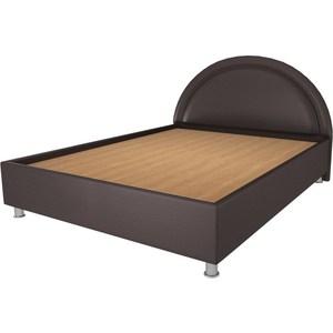 Кровать OrthoSleep Градо lite жесткое основание Сонтекс Умбер 160х200 кровать orthosleep арно lite жесткое основание сонтекс умбер 200х200