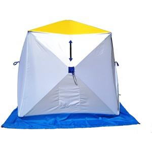 Палатка для зимней рыбалки Стэк Куб-1 трехслойная