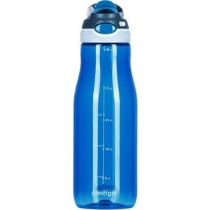 Бутылка для воды Contigo Autospout Chug синий 1200 мл tepмокружка 0 3 л contigo pinnacle contigo0739 темно синий
