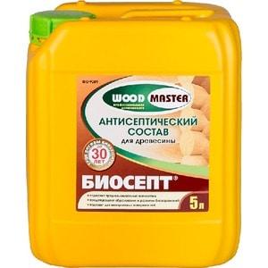 Антисептик для дерева РОГНЕДА БИОСЕПТ WOOD MASTER 5л.