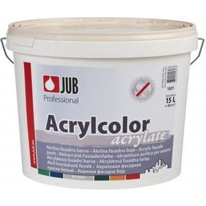 Краска в/д JUB ACRYLCOLOR фасадная акриловая база А 15л. краска фасадная силоксановая матовая база b2 белинка 1 86л