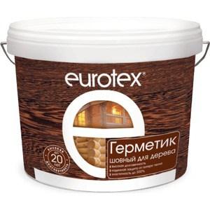 Герметик РОГНЕДА EUROTEX шовный для дерева орех 6кг. герметик рогнеда eurotex шовный для дерева орех 25кг