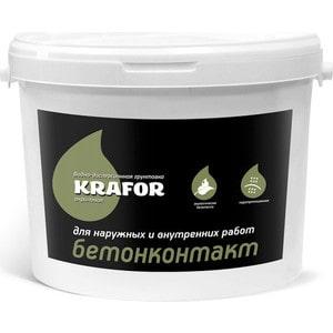 Грунтовка KRAFOR бетонконтакт 18кг.