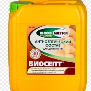 Антисептик для дерева РОГНЕДА БИОСЕПТ WOOD MASTER 20л.