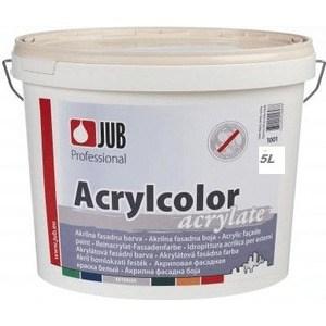 Краска в/д JUB ACRYLCOLOR фасадная акриловая база А 5л. краска фасадная силоксановая матовая база b2 белинка 1 86л