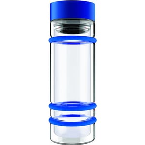 Бутылка  0.4 л Asobu Bumper bottle голубая (DWG12 blue)