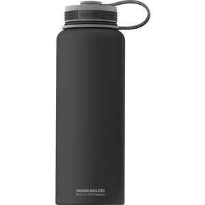 Термобутылка  1.1 л Asobu The mighty flask черная (TMF1 black) бутылка 0 48 л asobu the modern press зеленая fp3 lime