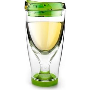 Термокружка  0.48 л Asobu Ice vino 2go розовая (IV2G green) термоконтейнер для банок и бутылок asobu frosty to 2 go chiller цвет черный