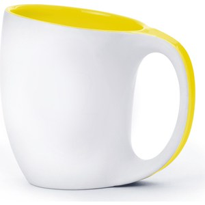 Термокружка  0.4 л Asobu The porcelain saphire желтая (MUG 330 yellow)