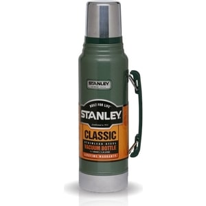 Термос 1 л Stanley Classic зеленый (10-01254-038) термос stanley legendary classic 1l dark green 10 01254 038