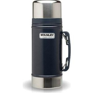 Термос для еды 0.7 л Stanley Legendary Classic синий (10-01229-027) термос stanley legendary classic food flask 0 7л синий 10 01229 027