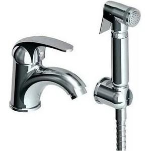 Смеситель для раковины GPD EKO с гигиеническим душем (MFB80) смеситель с душем недорого купить