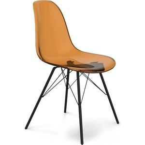 Стул Sheffilton SHT-S37 кофейный/черный муар стул sheffilton sht s48 гранит черный муар 2 штуки