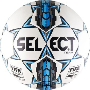 Мяч футбольный Select Team FIFA Approved 815411-002 р.5 мяч футбольный select talento р 4 тренировочный облегченный дизайн 2018г бел зел крас чер