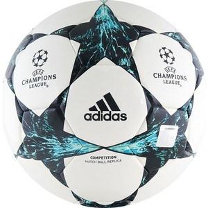 Мяч футбольный Adidas Finale 17 Competition BP7789 р.4 мяч футбольный adidas finale milano