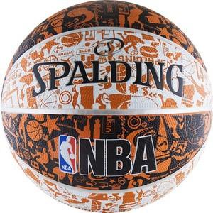 Мяч баскетбольный Spalding NBA GRAFFITI р.7, арт. 73-722z