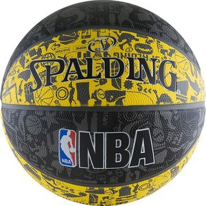 Мяч баскетбольный Spalding NBA GRAFFITI р.7, арт. 83-307z