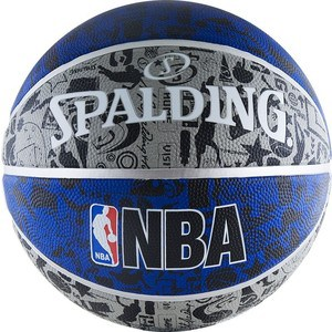 Мяч баскетбольный Spalding NBA GRAFFITI р.7, арт. 83-176z битоков арт блок z 551