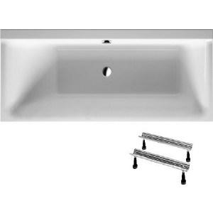 Акриловая ванна Duravit P3 COMFORTS 170x70 см с ножками, левая (700373000000000+790100000000000) акриловая ванна duravit p3 comforts 700371