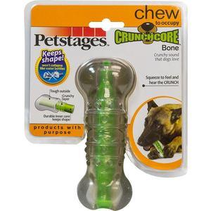 Игрушка Petstages Crunchcore Bone хрустящая косточка резиновая 12см для собак
