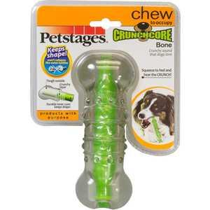 Игрушка Petstages Crunchcore Bone хрустящая косточка резиновая 15см для собак игрушка для собак dezzie косточка