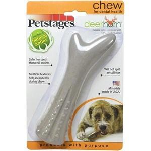 Игрушка Petstages Deerhorn косточка с оленьими рогами 16см для собак игрушка petstages deerhorn с оленьими рогами