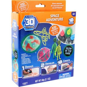 3D Magic Набор формочки + гели 3D Maker Инопланетяне (83010) пазлы magic pazle объемный 3d пазл эйфелева башня 78x38x35 см