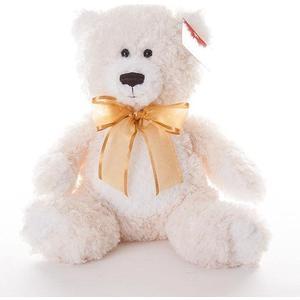 Мягкая игрушка Aurora Медведь кремовый, 20 см (15-329) aurora медведь 50 см