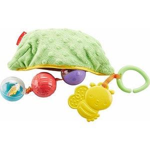 Fisher Price Плюшевая игрушка-погремушка Горошек (DRD79)