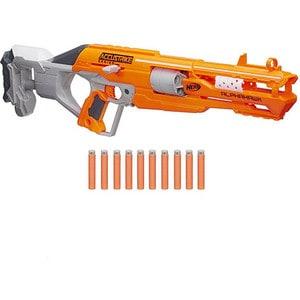 Hasbro Nerf Бластер Аккустрайк Альфахок (B7784) оружие игрушечное hasbro hasbro бластер nerf n strike mega rotofury