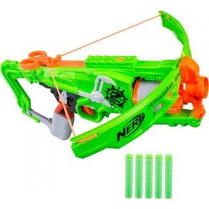 Hasbro Nerf Бластер Зомби Страйк Аутбрейкер (B9093) игрушечное оружие nerf hasbro бластер зомби страйк двойной удар