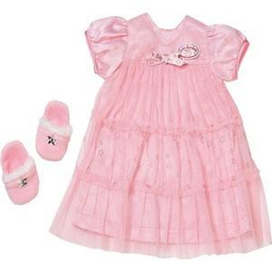 Zapf Creation Бэби Аннабель Одежда ''Спокойной ночи'' (платье и тапочки) (700-112)