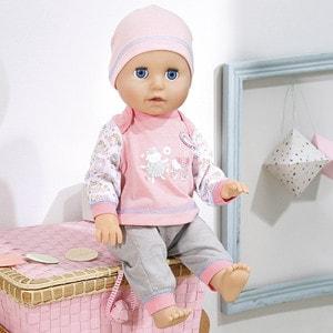 Zapf Creation Бэби Аннабель Кукла Учимся ходить, 43 см (700-136) zapf creation baby annabell 700 815 бэби аннабель колготки