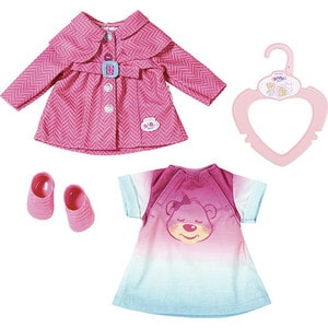 Zapf Creation Бэби Борн Комплект одежды для прогулки, 32 см (823-477)