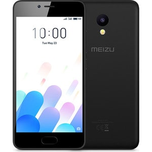 Смартфон Meizu M5c 16GB Black сотовый телефон meizu m5c 16gb red