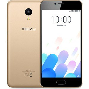 Смартфон Meizu M5c 16GB Gold смартфоны meizu смартфон meizu m5c 16gb