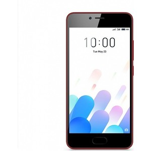 Смартфон Meizu M5c 16GB Red смартфоны meizu смартфон pro7 red 64gb