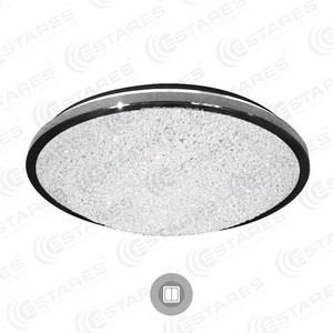 Управляемый светодиодный светильник Estares ATMOSFERA 38W R-380-TWIST-220-IP20 управляемый светодиодный светильник estares akrilika 60w r 510 clear white 220 ip20