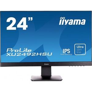 Монитор Iiyama XU2492HSU-B1 100 pieces pl75 b1 0 74mm spear tip spring pcb testing contact probes pin free shipping