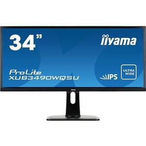 Монитор Iiyama XUB3490WQSU-B1 монитор iiyama xub3490wqsu b1 черный