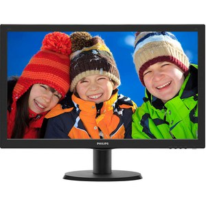 Монитор Philips 243V5LHSB5 монитор aoc 21 5 g2260vwq6 g2260vwq6